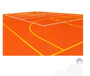 Basketball court manufacturer