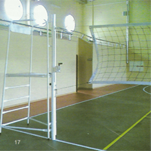 Vollyball flooring court manufacturer