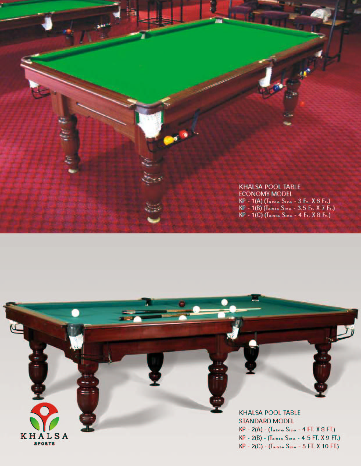 Pool Tabel - 3 1 2 x 7 pool table